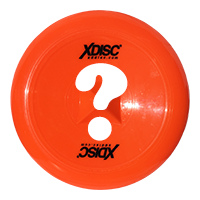 Orange Xdisc with a question mark