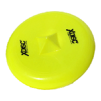 Yellow Xdisc at an angle
