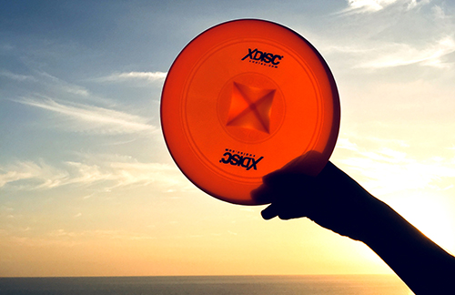 XDISC in a Costa Rican sunset